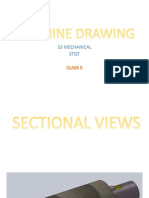 Sectional Views [Machine Drawing]
