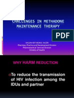 HARM REDUCTION PROGRAM APRIL 2013