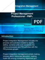 PMP Integration and Scope Management