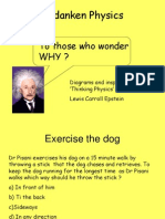 Gedanken Physics