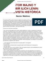 Nestor Majno y Vladimir Ilich Lenin_ Entrevista histórica