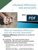 Individual Diff. Prof. Kiran