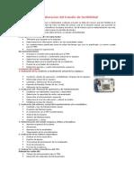 Organización y Elaboración del Estudio de factibilidad