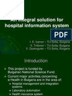 An Integral Solution for Hospital