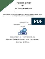 Hotel Managementfinal Report(Print)