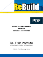 Repair & Maintenance Needs of Concrete Structures