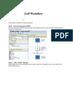 Create Basic SAP Workflow