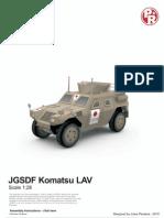 JGSDF Komatsu LAV by Julius Perdana