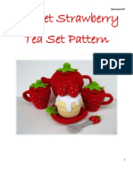 3758110 Strawberry Tea Set