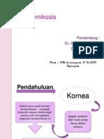 Keratomikosis ppt