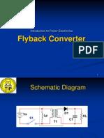 Lesson 9 - Flyback Converter