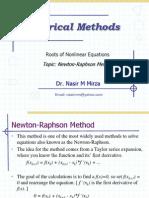 Lec 7 Newton Raphson