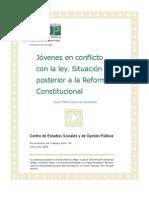 Adolescente en Conflicto Con La Ley_ Despues de La Reforma