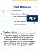 Lec 6 Bisection Method