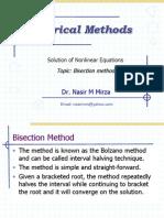 Lec 6 Bisection Method