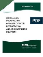 ARI Standard 370-2001