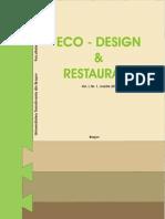 Eco-Design Si Restaurare Nr 1