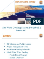 Sea Water Cooling System for Jubail 2