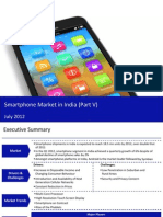 Smartphone Market in India 2012 - Public and Private Players