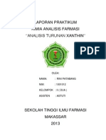 XANTHIN LAPORAN