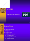Beams-shear & Moment