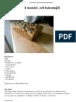 LCHF Recept - Ljust bröd med mandel- och kokosmjöl