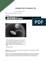 Incredible Technology - Geoengineering