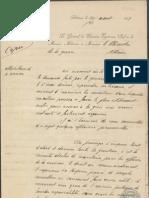 Joseph-Paul Eydoux Letter, August 1913