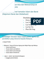 Interaksi Tamadun Asia Dan Relevansinya Di Malaysia Dan
