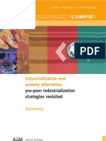 Fukunishi, Takahiro Et Al. 2006 'Industrialization and Poverty Alleviation-- Pro-Poor Industrialization Strategies Revisited' United Nations-- UNIDO & COMPID (28 Pp.)