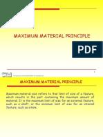 Maximum Material Condition