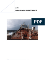 IACS International Association of Class Societies - Maintenance Strategi Guideline - Rec74 - 2011