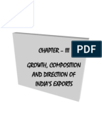 Direction of India's Export