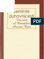 Seminte Duhovnicesti - Pr. Arsenie Boca