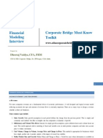 Corporate Bridge Toolkit - Financial Modeling Interiview.pdf