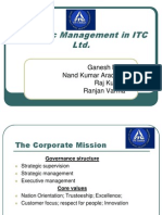 Strategic Management in Itc Ltd 1392