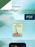 Bon anniversaire à Jean-Philippe Touzeau du blog Révolution Personnelle