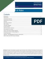 LP Briefing - Piracy - Gulf of Aden[1]