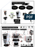 ABCoeZ Smart Digital Podiums, Lecterns, Public Addressing Systems