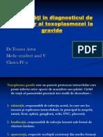 Actualităţi în diagnosticul de laborator al toxoplasmozei