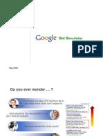 Google Adwords Bid Simulator Reference Guide