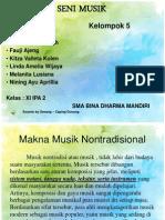 Seni Musik - Makna Musik Tradisional
