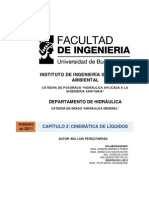 CAP 2. CINEMÁTICA DE LOS LIQUIDOS