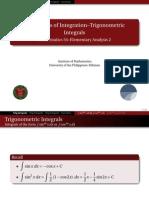 02 Trigonometric Integrals