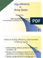 Energy Efficiency in Mining for Int.workshop