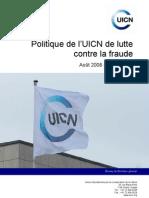 Anti Fraud Policy Fr