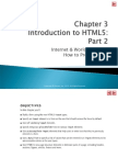 Web Programming Ch. 3