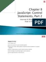 Web Programming Ch. 8