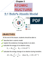 2.1 Atomic Structure