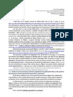Official letter to Mrs Viviane Reding sent on July 20, 2013